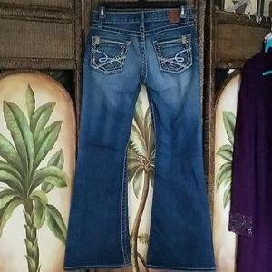 BKE 27/31 low rise Star Flare Jeans
